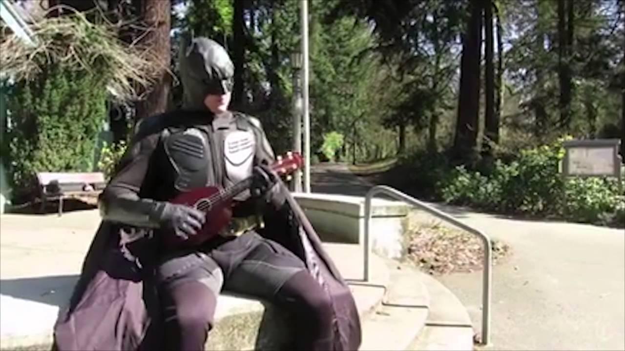 how to play superman on ukulele