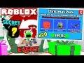I BOUGHT *20* NEW CHRISTMAS PACKS & GOT THIS?! (Roblox Mining Simulator Update)