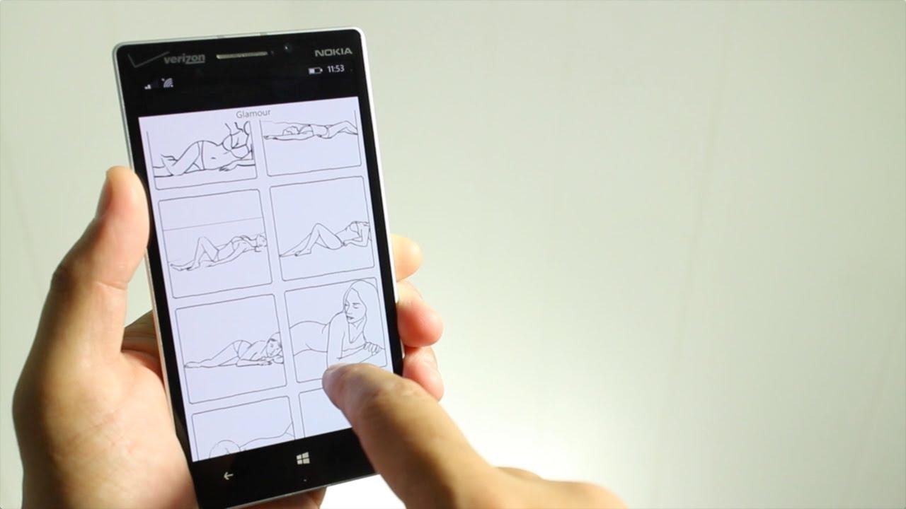 Posing App for Windows Phone