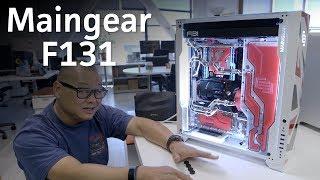 Unboxing the Maingear F131 - a custom cooled dream