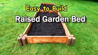 Easy to Build Raised Garden Bed Using Planter Wall Blocks