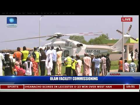 OLAM Poultry Farm & Feedmill Commissioning In Kaduna Pt.4