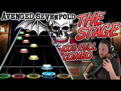 Avenged Sevenfold - The Stage 100% FC (Guitar Hero Custom Song)