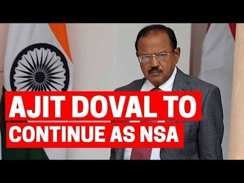 Ajit Doval to continue as NSA, upgraded from Minister of State to Cabinet rank