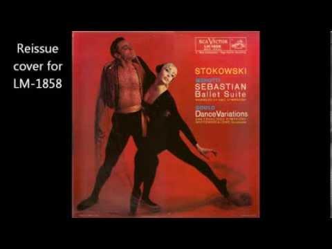 Menotti: Sebastian Suite, conducted by Stokowski (1954)