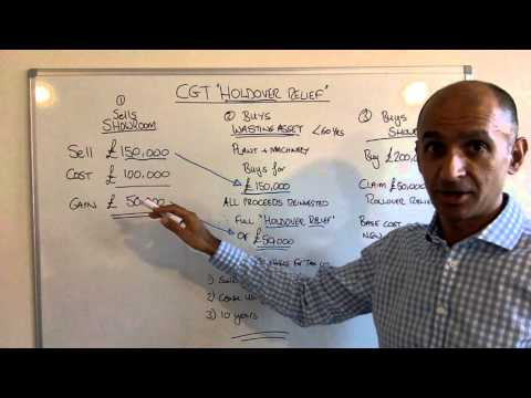 Capital Gains Tax Holdover Relief