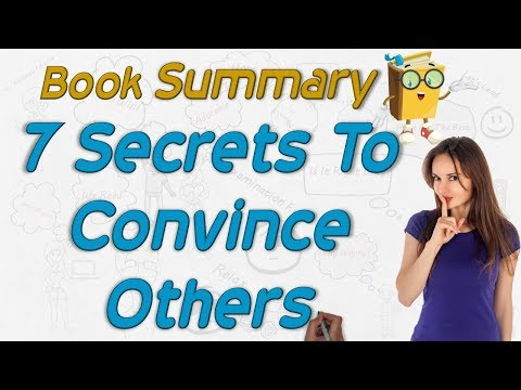 How To Convince Others (Hindi) Animated Summary Of 7 Secrets Of Persuasion By WEREAD