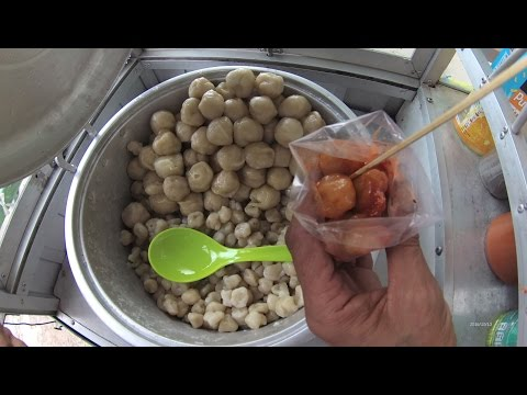 Jakarta Street Food 926 Part.1 GOD Bless Quail's Egg Cilok 4k Cilok Telor Puyuh Barokah 5766