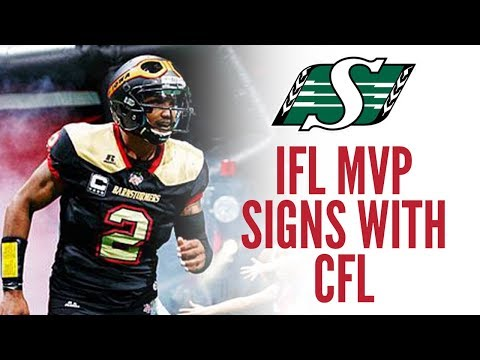 2018 IFL MVP Drew Powell Signs With CFL