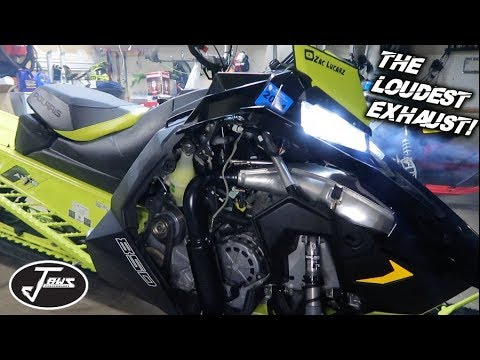 LOUDEST 850 Exhaust Challenge! (Jaws VS GGB VS Stock)