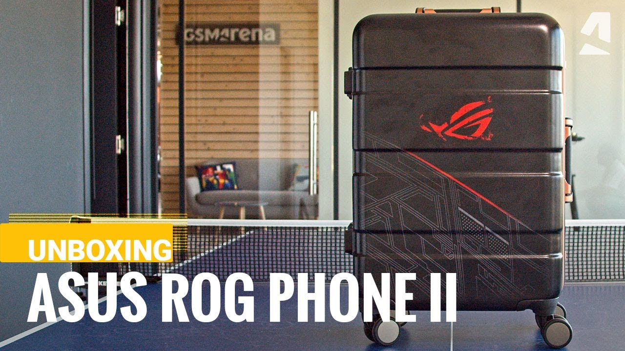 Asus Rog Phone 2 The Reviewer S Kit Unboxing Youtube