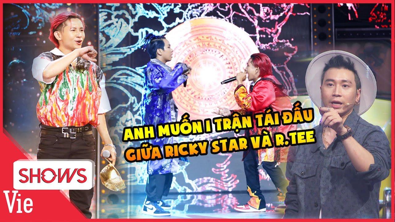 Màn đối đầu LỊCH SỬ Rap Việt: Karik trao nón vàng cứu Ricky Star, hứa hẹn một trận tái đấu với R.Tee