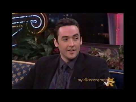 JOHN CUSACK HAS FUN WITH LENO