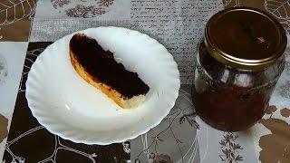 Шоколадная паста с орехами.  Домашняя нутелла. Нутелла рецепт. Шоколадные рецепты. Шоколадная паста.