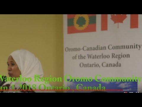 Waterloo Region oromo Community Ontario, Canada Jan.1,2018