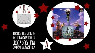Arc the Lad - Gameplay comentado em português [ABC do PS1]