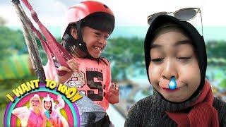 Ria Ricis Lagi Sakit, Malah Diajak Main Flying Fox Sama Lifia - I Want To Know (24/3)
