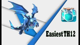 Electro Dragon Attack Strategy TH12 | Clone Strategy | Clash of Clans