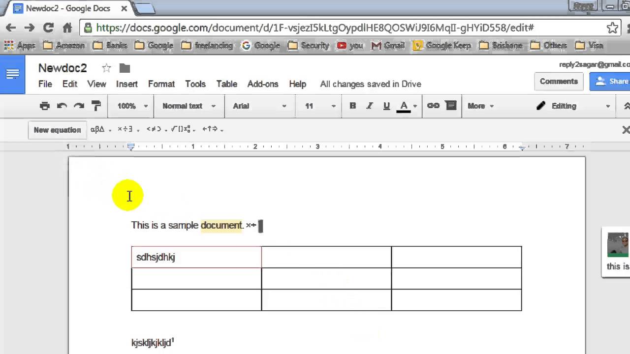 How To Insert A Footnote In Document In Google Docs Youtube