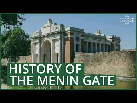 The history of the CWGC Ypres (Menin Gate) Memorial