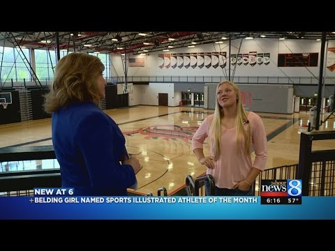 Belding HS student named Sports Illustrated Athlete of the Month