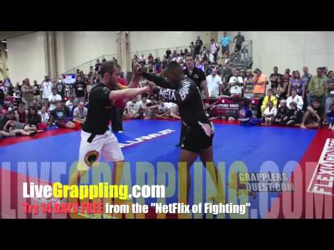 LiveGrappling.com Exclusive - Jeff Glover vs  Fredson Paxiao at Grapplers Quest UFC Las Vegas 2013