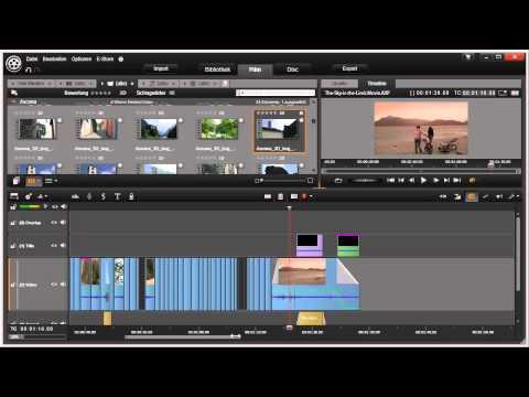 Übersicht Film Modus in Pinnacle Studio 16 und 17 Video 32 von 114