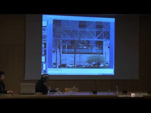 2/4 Conferencia de Rafael Moneo. Colegio Oficial de Arquitectos de Granada