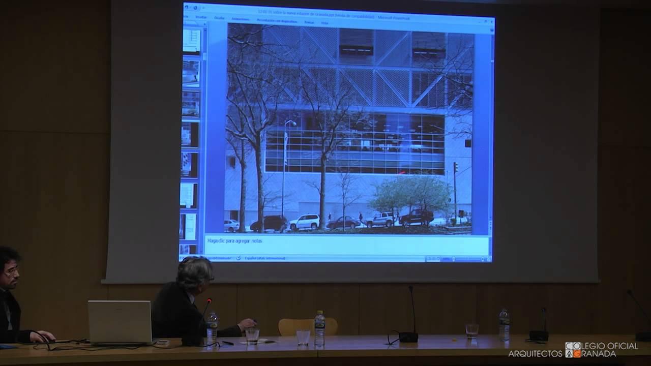 2 4 conferencia de rafael moneo colegio oficial de - Colegio arquitectos granada ...