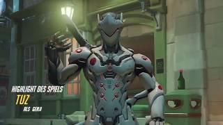 Overwatch Highlights Featuring Roblox Death Sound