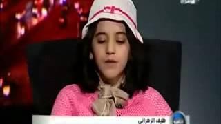 آية الكرسي بصوت طيف الزهراني في برنامج الثامنه #