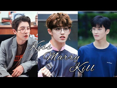 Kpop Kiss Marry Kill (Random Male Idol)