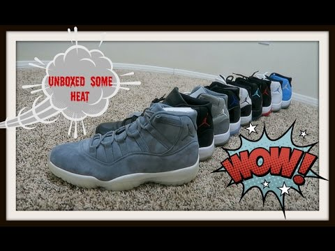 MY JORDAN RETRO 11 COLLECTION from YouTube · Duration:  4 minutes 50 seconds
