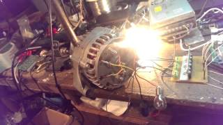 двигатель электровелосипеда из автомобильного генератора