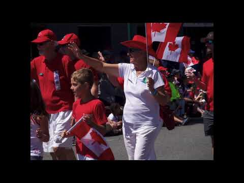 Faces Of Sidney BC On Canada Day 150, July 1, 2017