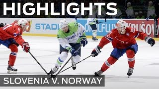 Norway play power game on Slovenia | #IIHFWorlds 2015
