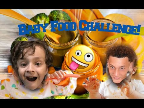 Guess the baby food challenge!! (w/EliDaKing)