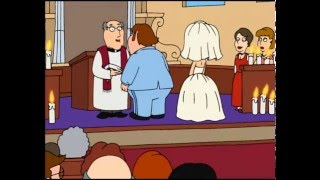 "Family Guy - ""Taped over our wedding video with softcore cable porn"""
