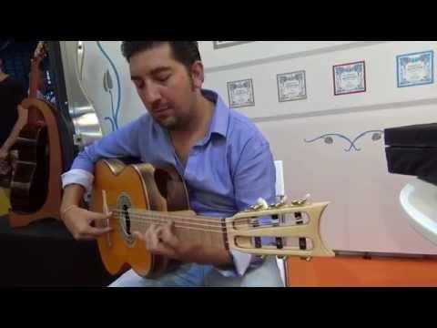 Guitar Fair in Malaga Spain 2014 / Andalusian Exposition / Bam Cases, Knobloch Strings + Antonio Rey