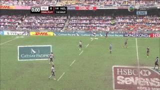 [Hong Kong Rugby Sevens 2013] Cup Semi Final -- Fiji VS New Zealand