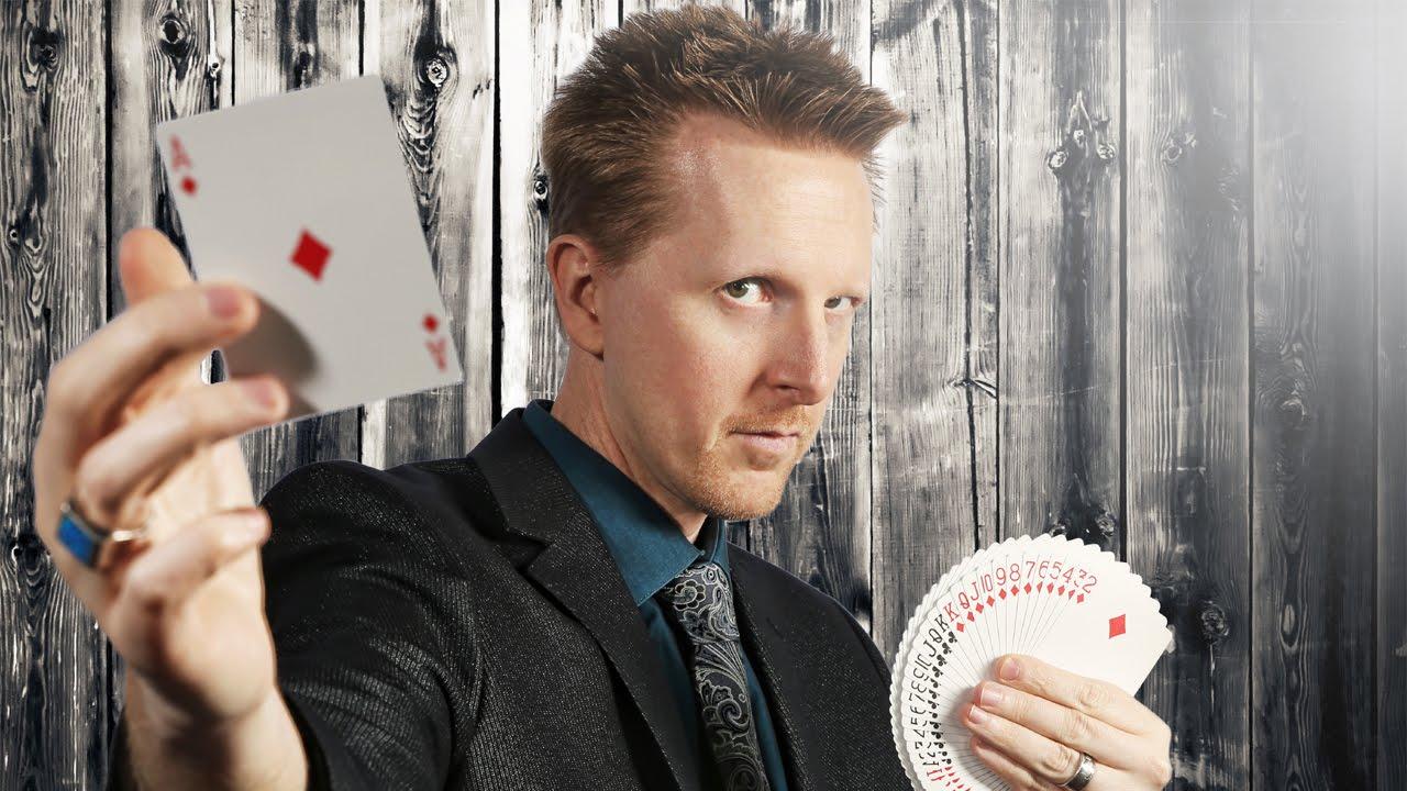 Magician Diamond Jim Tyler in Phoenix on ABC's Channel 12 ...