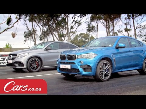 Drag Race: BMW X6 M vs Mercedes-AMG GLE63 S Coupe