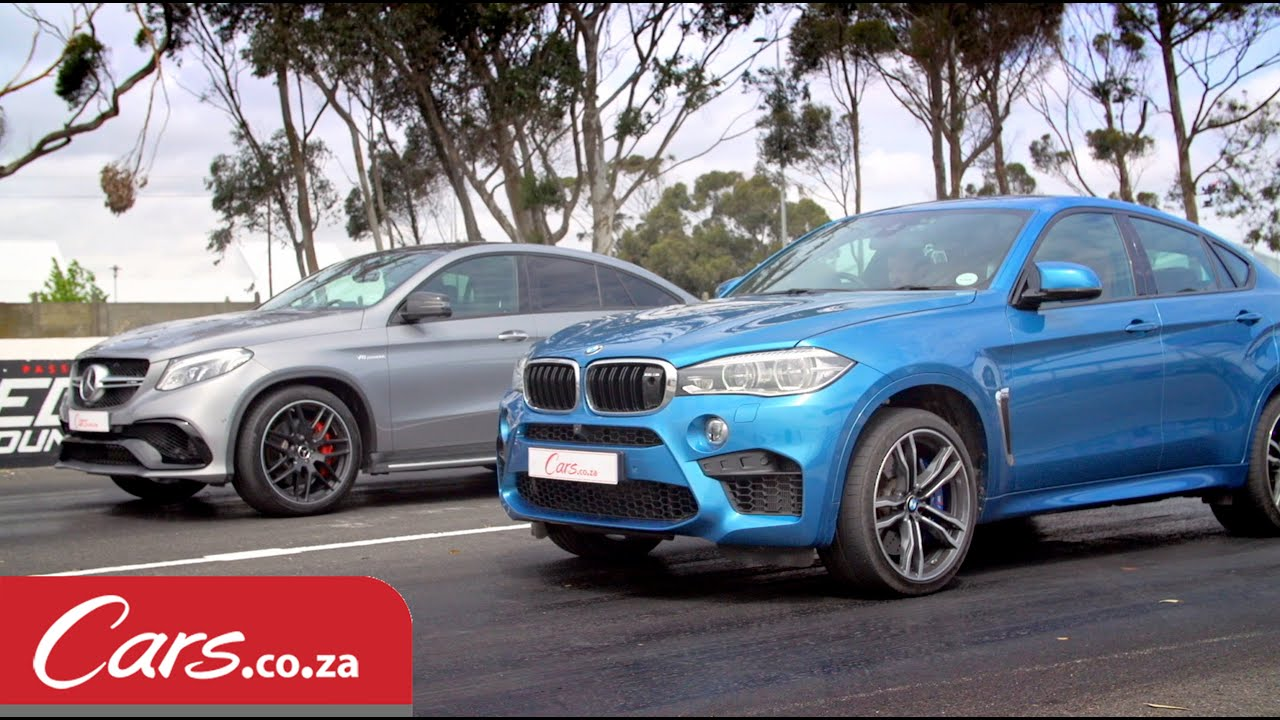 Drag Race Bmw X6 M Vs Mercedes Amg Gle63 S Coupe Youtube