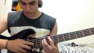 Angra - Ego Painted Grey (bass cover) - João Pedro Castro