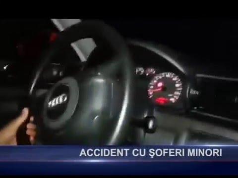 Accodemt cu şoferi minori