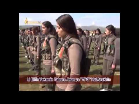 Koma Botan Roj Roja me Kurdaye YPG u YPJ.