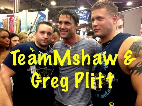 "Greg Plitt Interview 2014 Arnold Expo ""Fasting"" (R.I.P. Greg)"