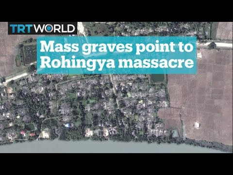 Evidence of mass graves of Rohingya Muslims in Myanmar
