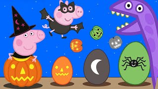 Peppa Pig 🎃 Peppa Pig Halloween Special - Peppa Pig Halloween Surprise Eggs