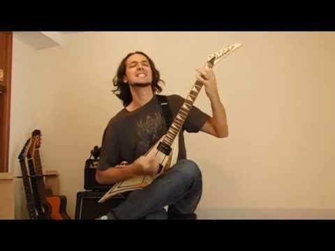 """Facundo López of the band GEODA playing """"Roundup Ready"""" (guitar live performance)"""